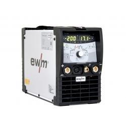 EWM Tig-svejser TETRIX 200 DC COMFORT 2.0 PULS 5P komplet med 8M brænder